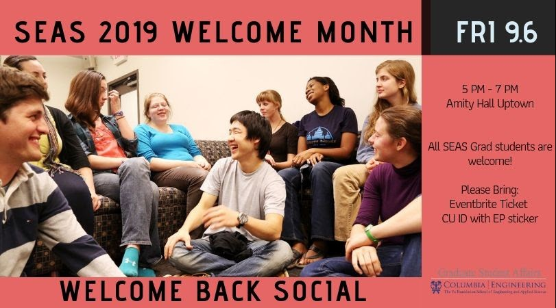 Amity Hall Welcome Back Social